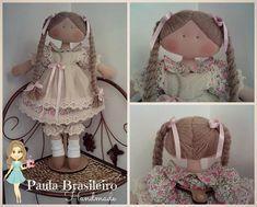Fabric doll with braids: # Doll : Cloth doll with braids: Dream Doll, Textiles, Soft Dolls, Fabric Dolls, Rag Dolls, Amigurumi Doll, Doll Patterns, Vintage Dolls, Handmade Crafts