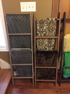 Blanket Ladder - fun woodworking project