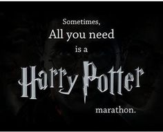 Sometimes?...*Snape voice* Always