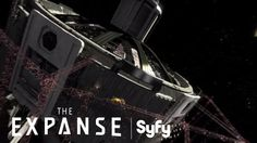 Liked on YouTube: THE EXPANSE (360 Video)   Virtual Reality Tour of Tycho Station & The Nauvoo   Syfy