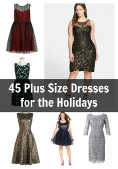 45 MUST HAVE Plus Size Holiday Dresses to Get NOW