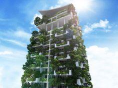 Gallery of Milroy Perera Designs World's Tallest Residential Vertical Garden - 9
