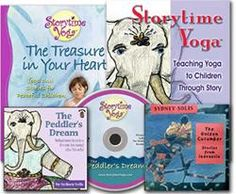 Storytime Yoga® for Kids Get Started Kit - everything you need to start telling oral stories with yoga to educate children. Audios, books, ebooks by Sydney Solis