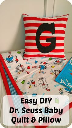 Easy DIY Baby Quilt And Pillow