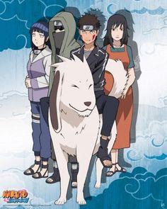 Poster affiche Naruto Shippuden Team Kurenaï