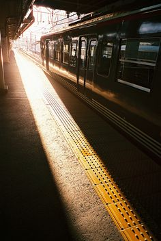 Train station in Japan