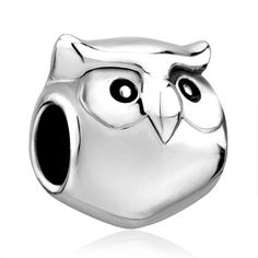 6465eb504a7 Beads Cute Harry Potter Fan Owl Animal Charm For Bracelet Brands Charm,  Charms Beads, Pandora Charms | Pugster.com