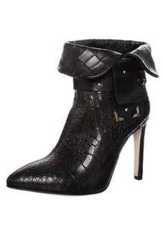 Fornarina CHRISEL - High heeled ankle boots - black for £115.00 (23/01/15) with free delivery at Zalando