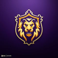 Lion Order Logo by @dasedesigns LEARN LOGO DESIGN IN OUR BIO!