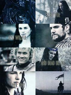 Lyanna Stark, Rhaegar Targaryen and Robert Baratheon