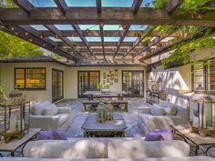 STATS 4 BEDROOMS 5 BATHS 1 HALF BATH 2,850 SQ. FT. $2 MILLION  Actress-singer Leighton Meester's charming home recently sold for just over $2 million, according to Trulia. Built in 1948, the contemporary residence is located in the gated community of Royal Oaks and features ample indoor-outdoor living space.