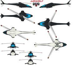 AIRWOLF REIMAGIND by bagera3005