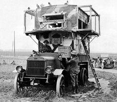 WWI Pidgeon Transport