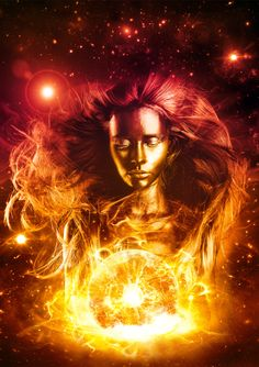 "Fire:  #Fire ~ ""Alcyone,"" by KarimFakhoury, at deviantART."