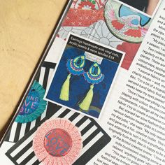 Earlier this year my business was featured in Bristol 247 magazine House Clearance, Recycling Center, Mollie Makes, Charity Shop, Something Old, Recycled Fabric, Statement Jewelry, Bristol, Earrings Handmade