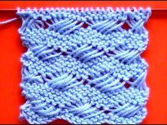 Receita de Tricô: Ponto cruzado em trico