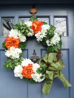Colors of Ireland St Patrick Day Wreath by MonicaMurrayHome, $55.00