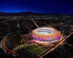 Camp Nou Stadium for FC Barcelona