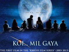 Koi Mil Gaya (India, 2003) (the first film of the Krrish series)