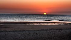 Coucher de soleil à Sancti Petri, Cadix - Costa de la Luz (Espagne)