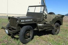 Check out this 1942 Willys Military Jeep on GovLiquidation! Military Jeep, Military Vehicles, Willys Mb, Military Surplus, Antique Cars, Monster Trucks, Auction, Jeeps, Forum Jeep