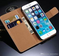 For Iphone 5S/6/6Plus Samsung Galaxy S6/S6 Edge Cases Stand Wallet PU Leather Flip Pouch Case Cover With Card Holder from Mayiandjay,$2.81 | DHgate.com