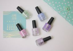 Hello June! Summer has finally arrived with our new Polished in Pastels collection.