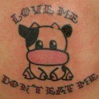 Tattooed aren't for everyone, but if you're looking for some animal liberation ink ideas, have a looksie.