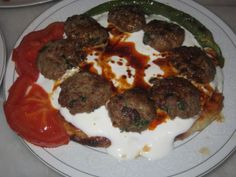 kamalı köfte - turkish food - türk yemekleri