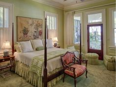 I would love this for my bedroom                                     A Beautiful Island Home With Old World Romance and Charm