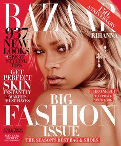Rihanna : Harper's BAZAAR - Mars 2017 par Mariano Vivanco.