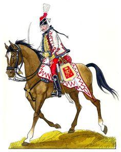 Frei-Husaren von Schill - Project Seven Years War saxon