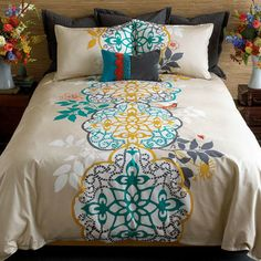 Blissliving Home Shangri La Duvet Set Reversible | Wayfair