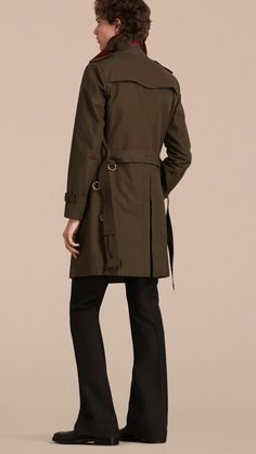 Military Detail Cotton Trench Coat | Burberry