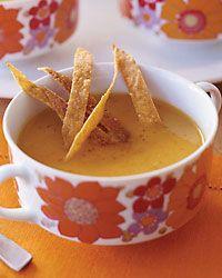 Sweet potato, Chipolte & Apple soup