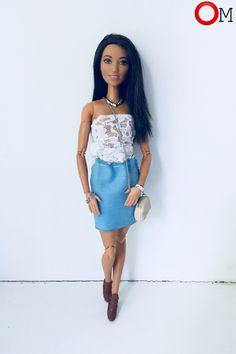 #barbie #barbiedoll #doll #clothes #dollclothes #барби #барбиодежда #одежда #кукла #кукольнаяодежда #женскаяодежда #длядевушек #дляженщин #femaleclothes #forgirls #forwomen легкий летний образ