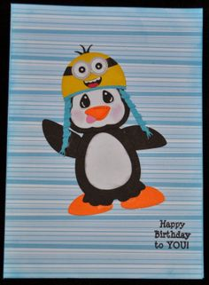 My Little Spot of Sanity: Happy Birthday Silly Penguin