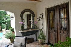 french country farmhouse doors | Modern Day Townhouse Fashioned with Old World French Country Charm