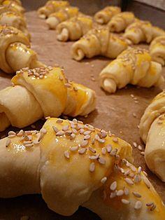 Dvovrsne kiflice od sira mekane kao jastuk!