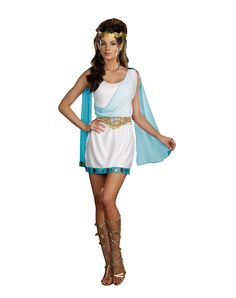 Chic To Be Greek Adult Womens Costume $49.99
