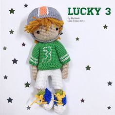 My crochet doll no.13 @ Lucky 3