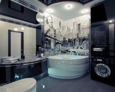 Hollywood Inspiartion?! View more at http://www.maisonvalentina.net/en/inspiration-and-ideas/interiorsdecor/20-decorating-ideas-for-bathroom-sets #bathroomdesignideas #amazingbathrooms #luxurybarhrooms
