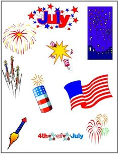 4th of July Clipart {FREEBIE}
