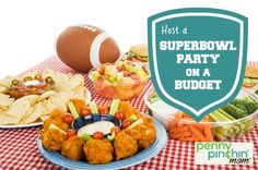 How to Host a Superbowl on a budget  #superbowl #party #savingmoney