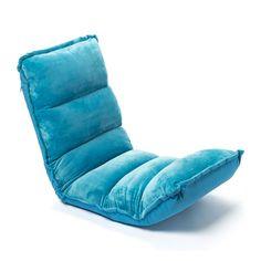 Fauteuil multi-positions bleu lagon Bibliobul création Oxybul pour enfant de 2 ans à 12 ans - Oxybul éveil et jeux