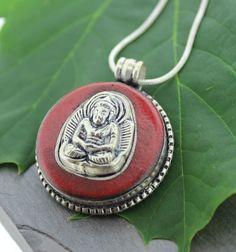 Dharmashop.com - Sterling Silver Amitabha Buddha Set in Coral , $24.00 (http://www.dharmashop.com/sterling-silver-amitabha-buddha-set-in-coral/)