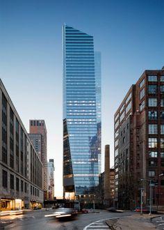 10 Hudson Yards skyscraper by Kohn Pedersen Fox, KPF, for Coach