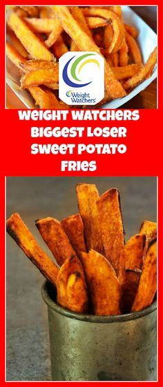 Biggest Loser Sweet Potato Fries - 4 Smartpoints - weight watchers recipes