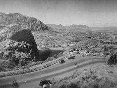 Pali Road, 1945-6