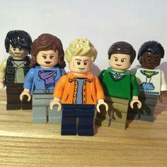 PTX LEGOS!!!!!!!!!!!! Avi, Kirstie, Scott, Mitch, Kevin. Pentatonix